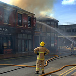 More pictures of the fire at Sandos, Preston - 6