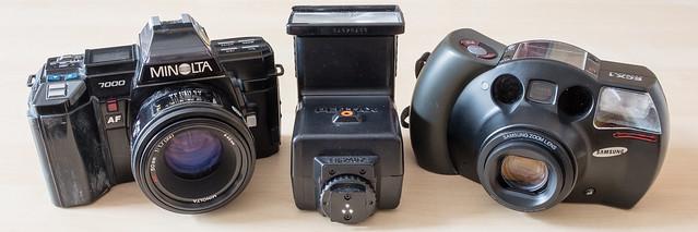 Charity shop cameras
