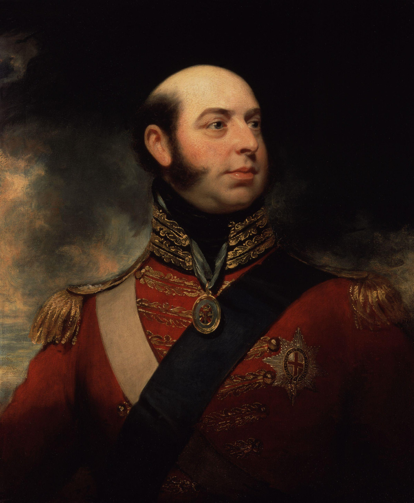 Edward, Duke of Kent and Strathearn bu William Beechey, 1818