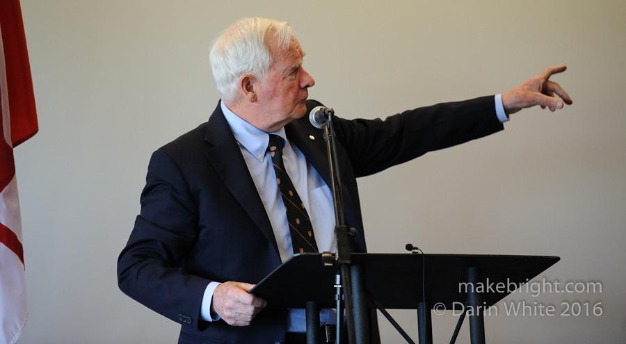 Governor General David Johnston at the AC - May 2016 319