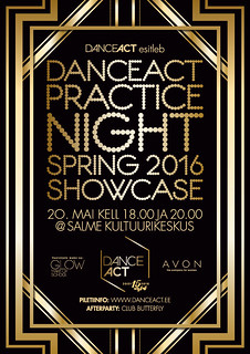 DanceAct Practice Night Spring 2016 Showcase