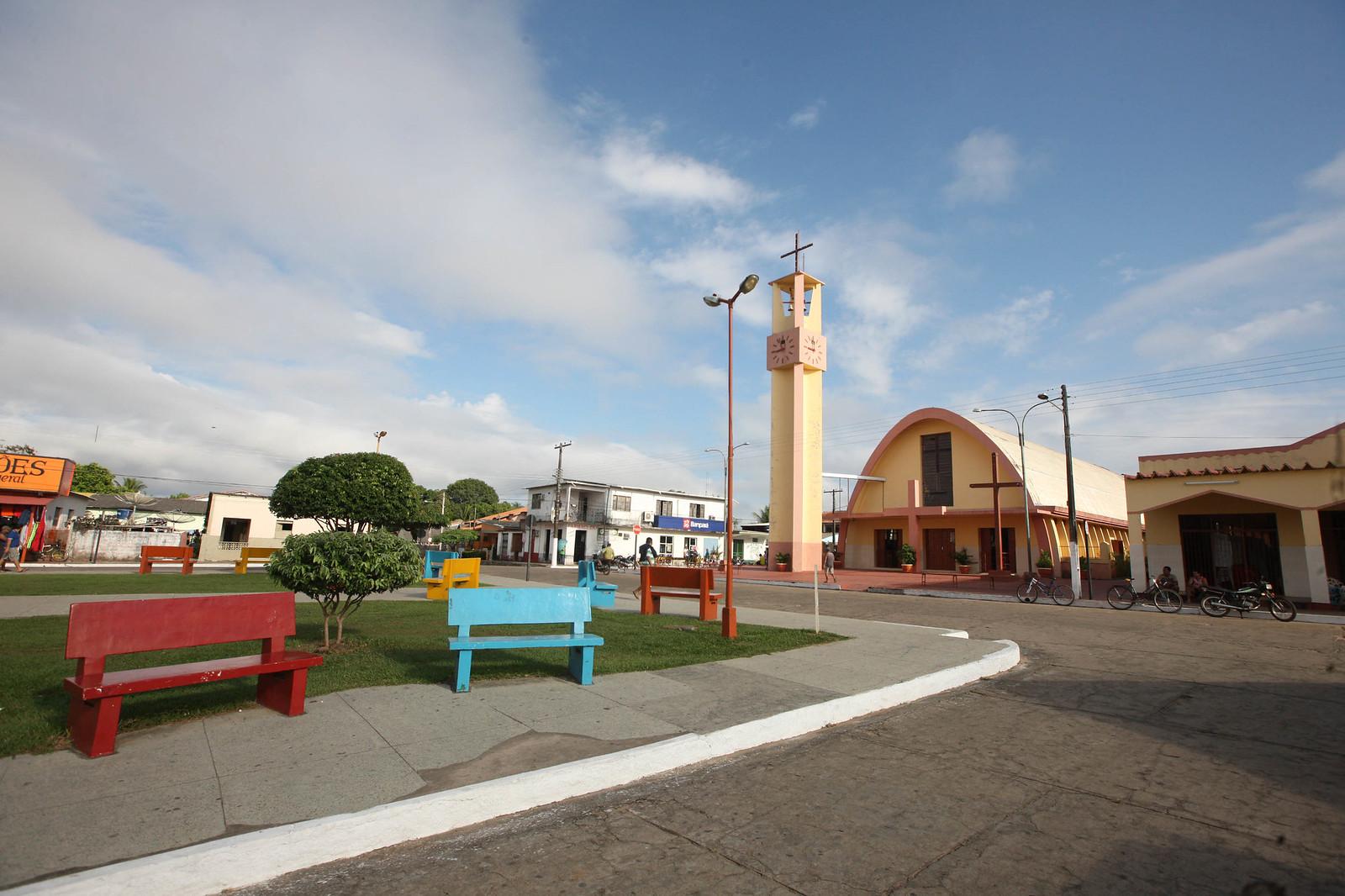 10 obras tocadas em Terra Santa com recursos dos royalties da bauxita, Terra Santa, oeste do Pará