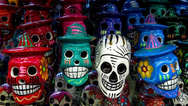 Mexican Skull Art