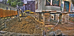 """""""Bates Motel"""" Construction Site Update HDR Panorama"""