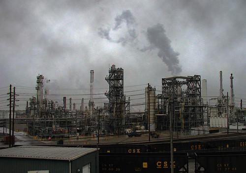 Refinery - Lima, Ohio - e.m. cadwaladr