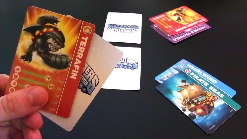 Skylanders card game