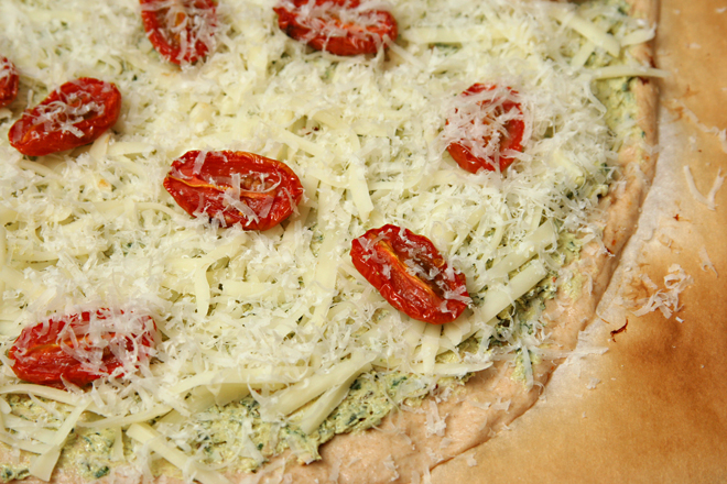 prosciutto goat cheese pizza 3