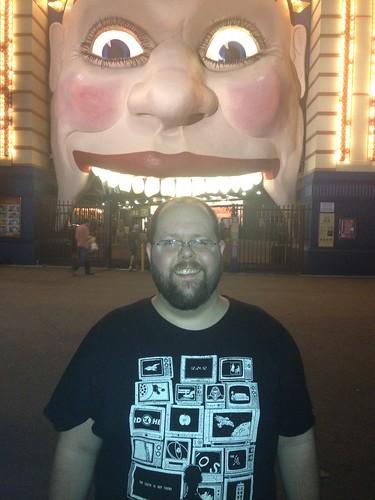 Me at Luna Park Sydney