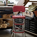 Stepstool and flatfiles at Ink Paper Plate PRESS