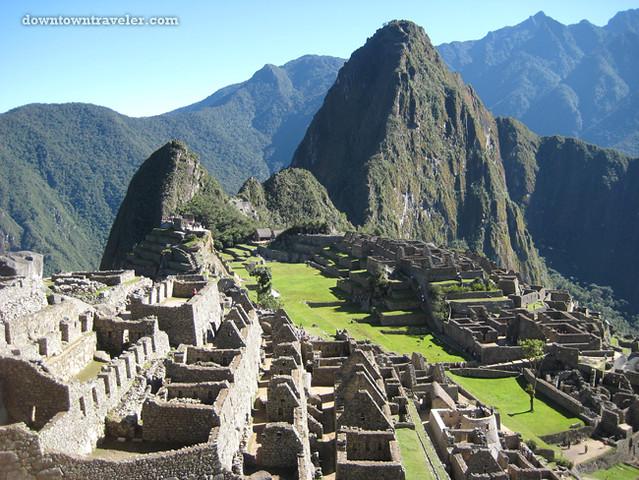 Macchu Pichu Ancient Ruins Peru 11