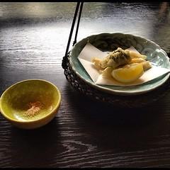 Second course of the Miyabi kaiseki lunch #japan #hiroshima #food