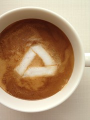 Today's latte, Google Drive.