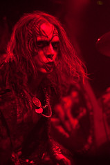 Watain @ Slim's 4-23-2012 Decibel Magazine Tour
