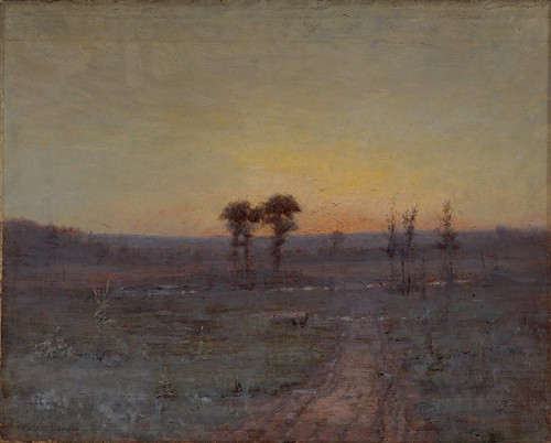 George Glenn Newell - Twilight [c.1905] by Gandalf's Gallery