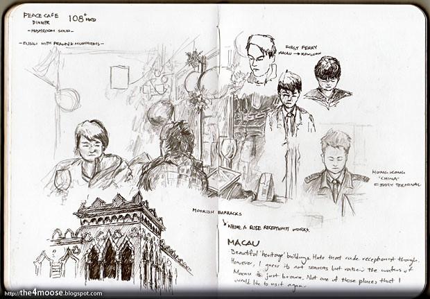 Hong Kong & Macau Doodle 021211