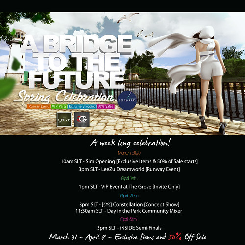 OGlam & The Grove Present: A Bridge to the Future - Schedule event