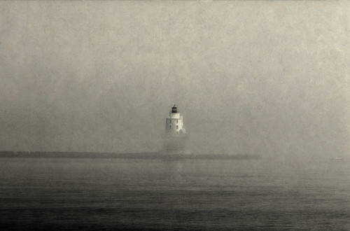 Fog Lingering in Lewes by xposedfilm