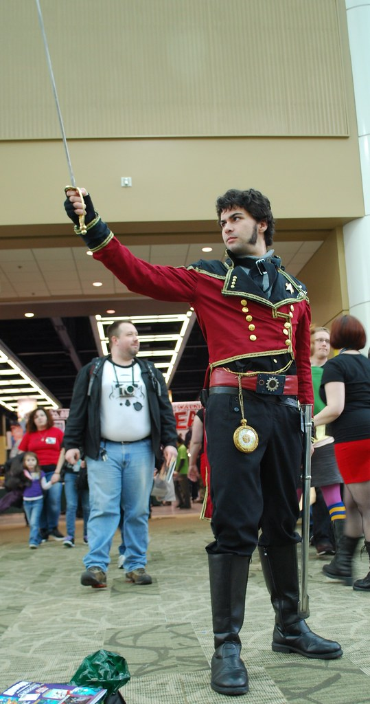 Steampunk Star Fleet Officer!