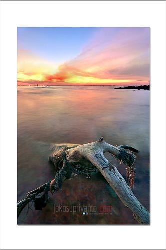 sunset pulau putus