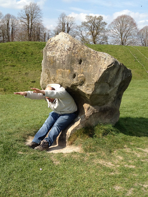 James at Avebury