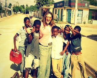 In Haiti!