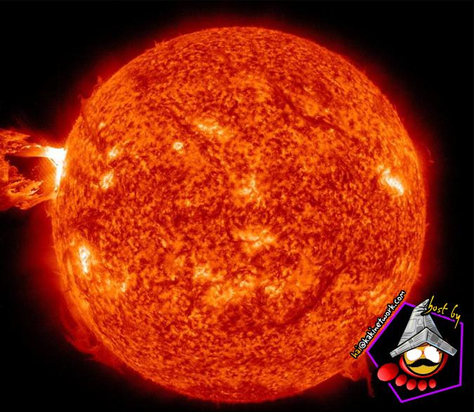 letupan matahari