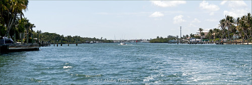 ICW looking south, panoramic view by Alida's Photos