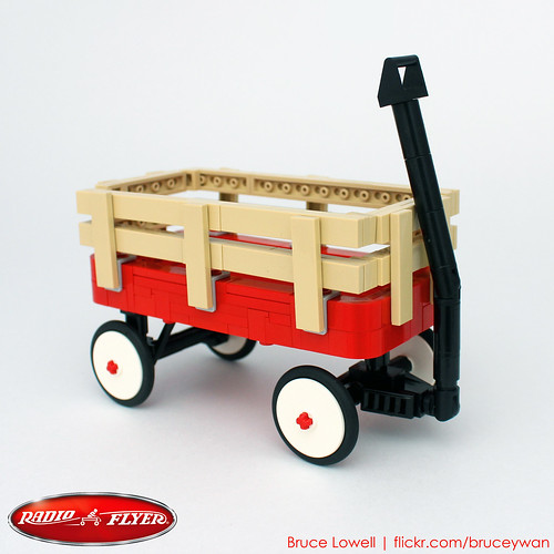 LEGO Radio Flyer Trav-ler Wagon