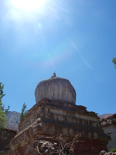 A Stupa by Aravind Kumar