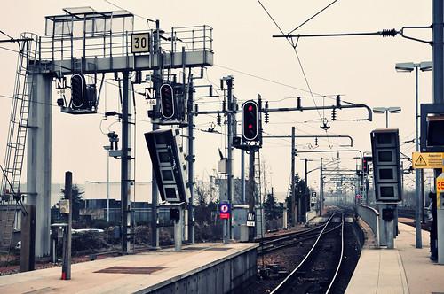 [フリー画像素材] 建築物・町並み, 鉄道駅・プラットフォーム, 鉄道・線路 ID:201205062000