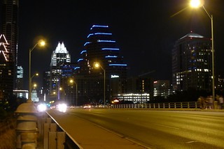 Austin skyline by night