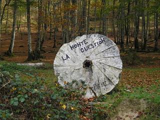 Señalización del Monte La Cuestión.