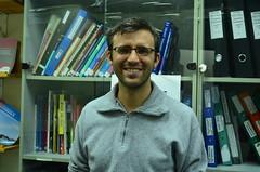 受訪者為Shatil耶路 撒冷辦公室主任Chaim