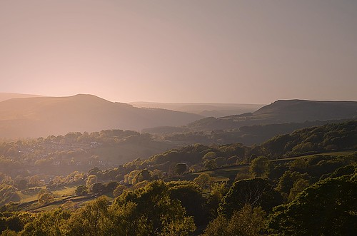Waiting for the Sunset - Millstone Edge, Derbyshire