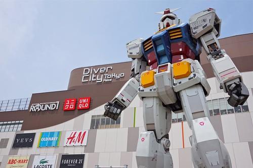 Tokyo 2012 - ガンダムフロント東京 (4)