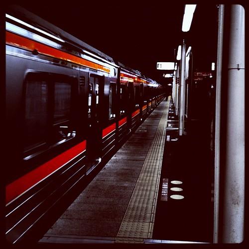 武蔵野線電車待ち