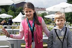 Minifestivalsjefer - Miniøya 2012: Christine Sylling Clausen og Erlend Andreas Krognes