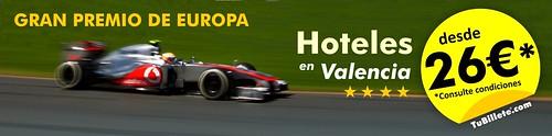 Oferta Valencia formula 1
