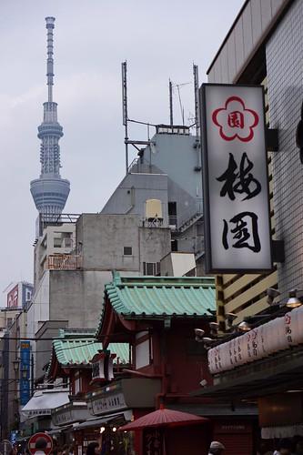 Tokyo 2012 -  浅草 - 東京スカイツリー (1)