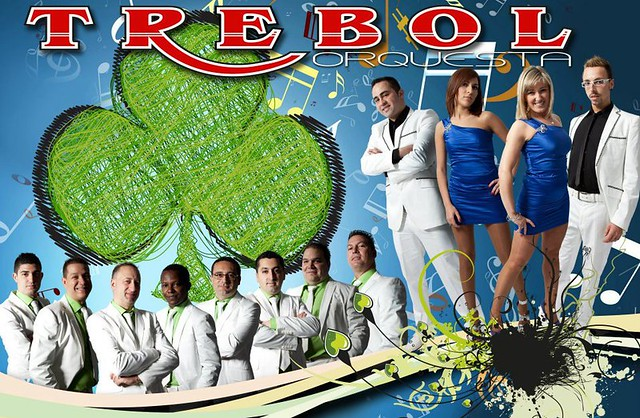 Orquesta Trébol 2012 - cartel