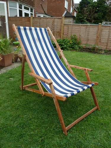 Deck chair - before
