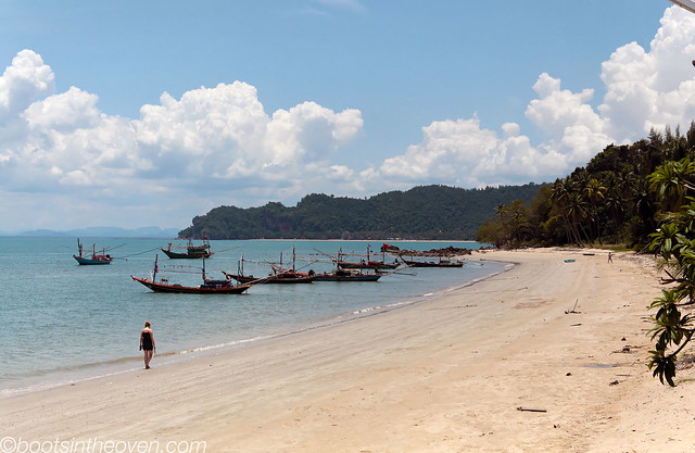 Along the Beach, Koh Tao