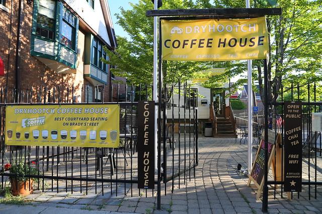 Dry Hootch Coffee House on Brady Street