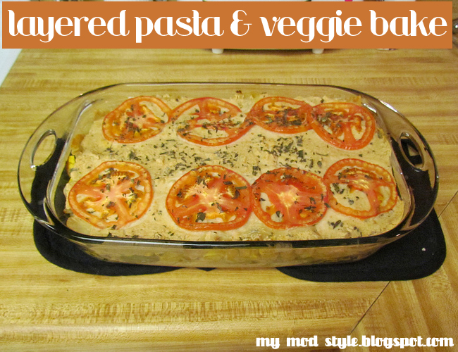 Whole Food Recipe - Veggie Bake
