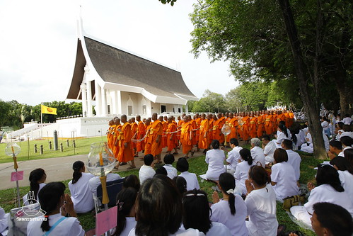 Dhammakaya Foundation's buddy icon  Vesak Day 2012 at Wat Dhammakaya