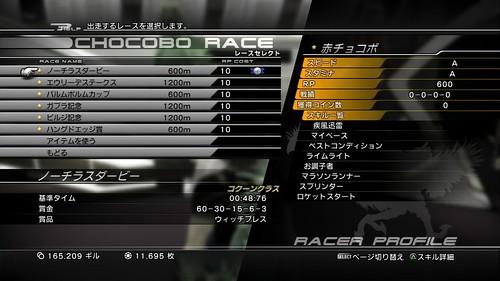FF13-2 - レース用チョコボ