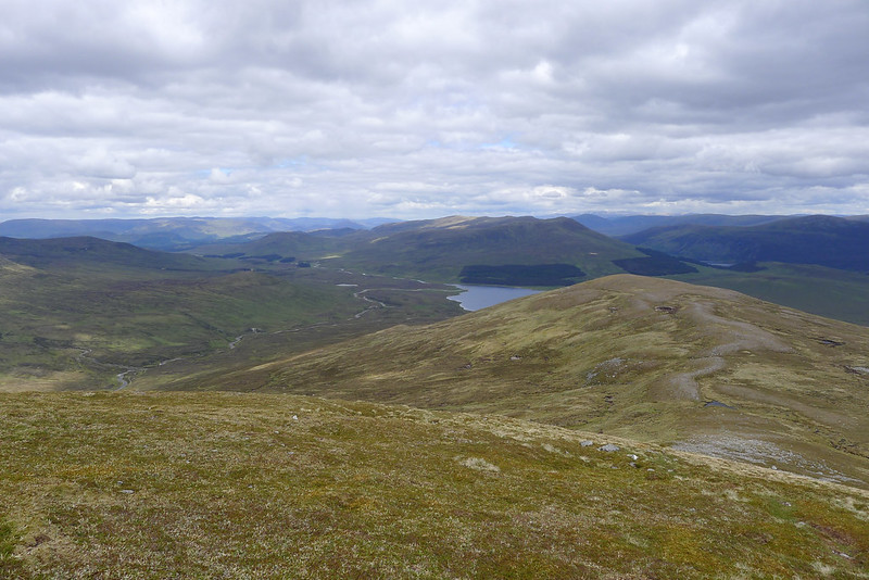 Loch Pattack from Carn Dearg