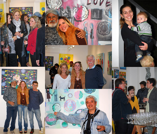 "The opening of my exhibition at the ''COR.Galeria de arte""- The great evening arte""- The great evening by good mood factory / Anita Damas"