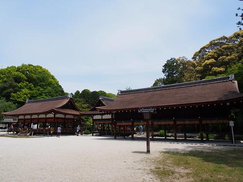 上賀茂神社 土舎・橋殿・細殿