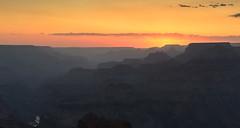 Sunset at Navajo Overlook